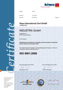 ISO Zert EN 220